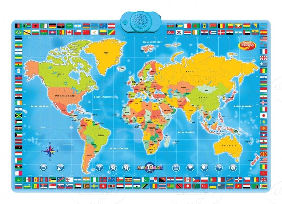 Интерактивная карта мира скачать