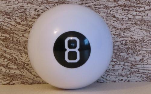 шар восьмерка поможет найти правильные ответы